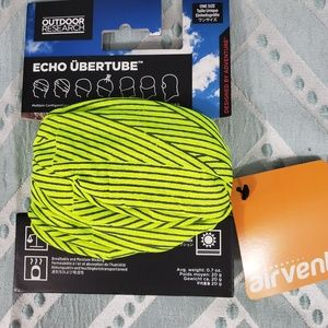 Outdoor Research Echo Ubertube Scarf, Beanie Green